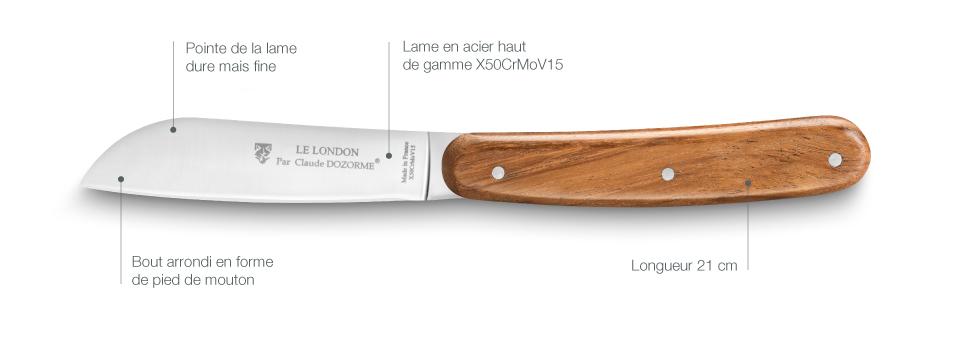 Couteau table London
