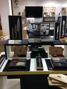La coutellerie Claude Dozorme au salon Maison & Objet à Paris