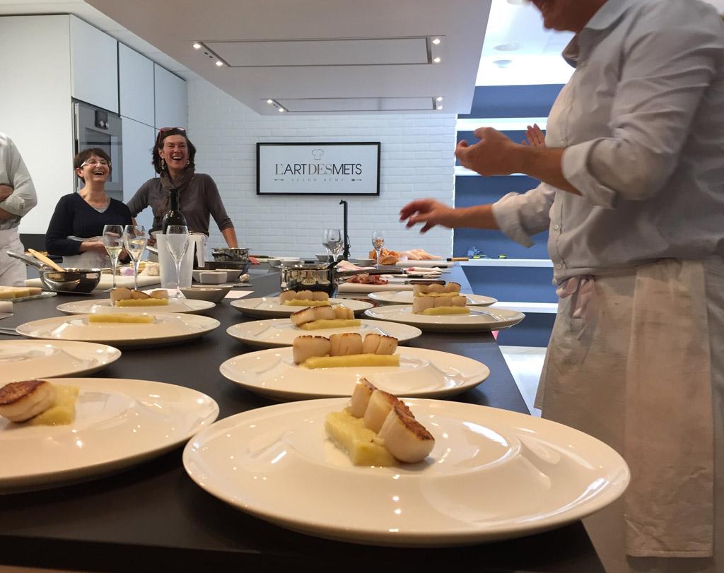 Dozorme s invite sur les tables du chef r my giraud - L art de la cuisine francaise ...