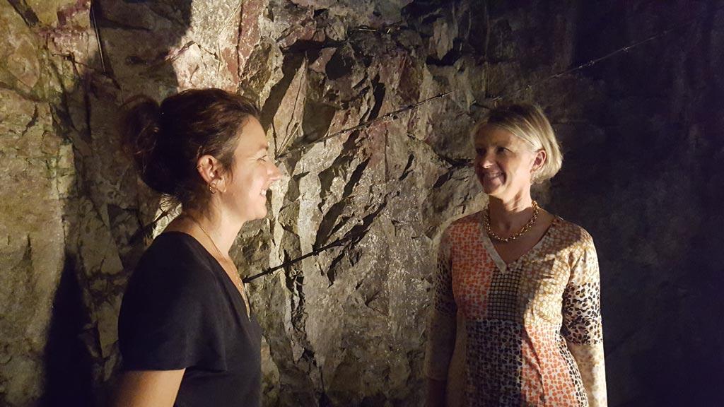 Charlotte Charbonnel et Claudine Dozorme