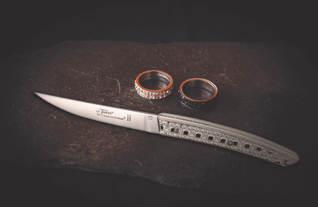 L'Ame luxe, la star des couteaux