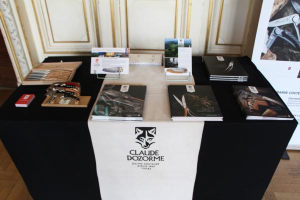 """Stand Claude Dozorme lors de la remise des """"Trophées PME RMC"""" 2019"""