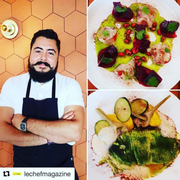 Enrique Casarrubias -Chef du restaurant Oxte